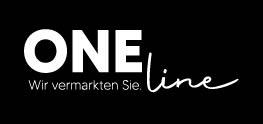 Das Logo der One Line Werbeagentur aus Ellwangen